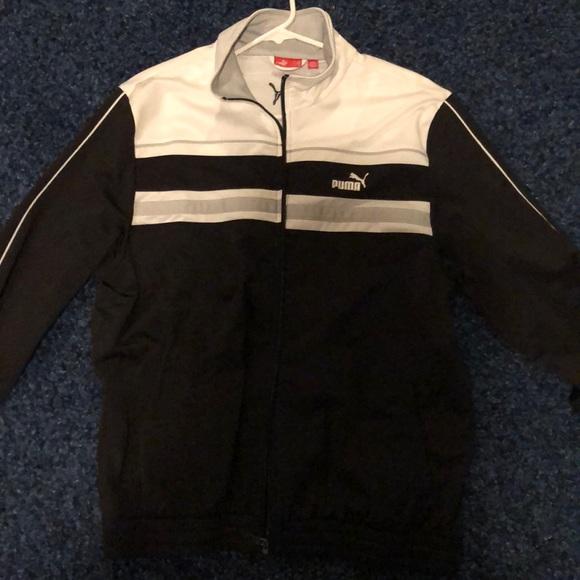 Puma Other - Puma jacket black/white